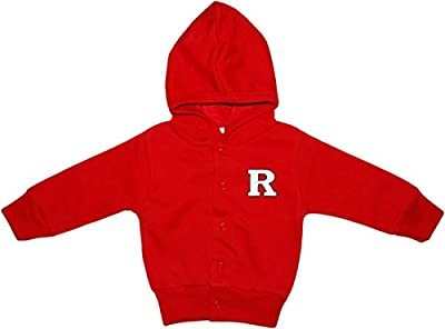 Rutgers University Scarlet Knights Baby and Toddler Snap Hooded Jacket