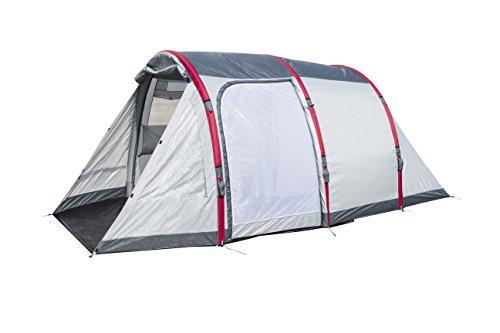 Pavillo Sierra Ridge Air X 4 Zelt, aufblasbares Tunnelzelt mit Airframe, für 4 Personen, riesige 485 x 270 x 200 cm