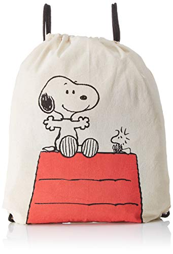 Snoopy Stoffrucksack Hütte