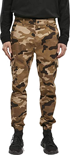 Urban Classics Herren Cargo Jogging Pants 2.0 Hose, darkground camo, 36
