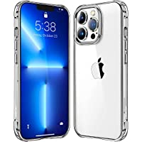 Mkeke Compatible with iPhone 13 Pro Case Clear