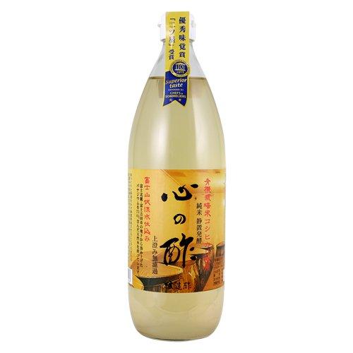 心の酢「上澄み無濾過」1000ml 米酢 単品 純米酢 戸塚醸造店