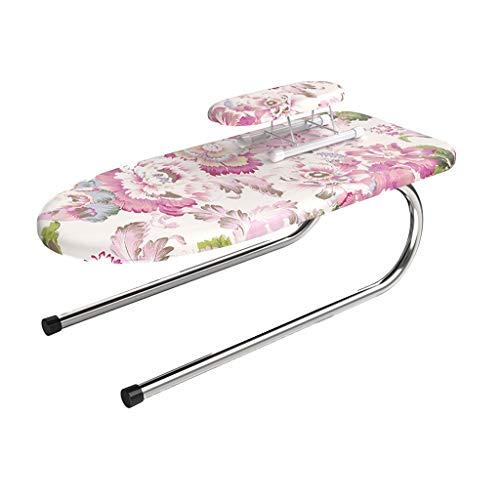C-J-Xin Table Top strijkplank, for kleine ruimtes Modern Huis Multifunctionele strijkplank Bed Woonkamer Slaapkamer Workbench Wasserijbenodigdheden (Color : B, Size : 73 * 23 * 32cm)