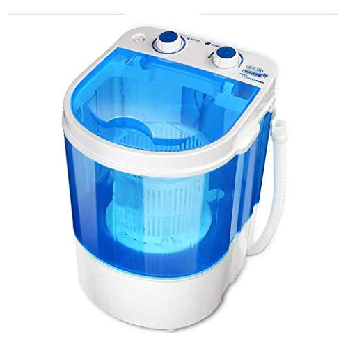 Portátil Lavadora, 2,2 kg doméstica pequeña semiautomática secador rotatorio, fácil de Camp Hotel compartida de Camping JIAJIAFUDR