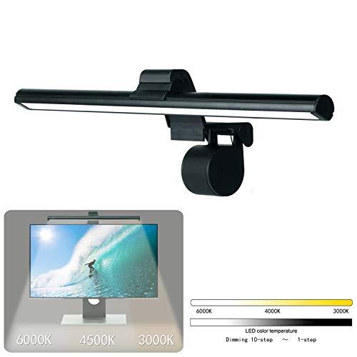 LED クランプライト モニター掛け式ライト pc モニター led ライト クリップライト デスクライト スクリーンライト 電子読書ランプ 明るさ調整可能 クリップ式 USB式(アダプタ付き) スクリーンライト スペース節約 目に優しいデスクライト PC