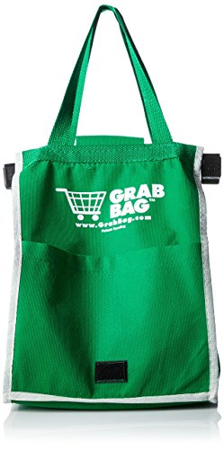 Grab Bag Shopping Bag (Pkg Of 2) (Shopping Cart Bags As Seen On Tv)