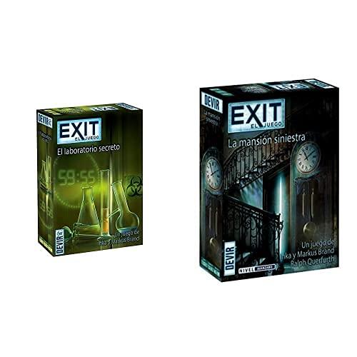 Devir - Exit: El Laboratorio Secreto, Ed; español (Bgexit3)+- Exit 11, La Mansión Siniestra (Bgexit11)