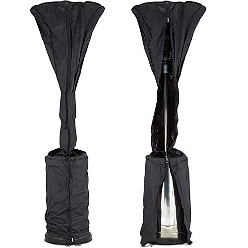 Viourna SHIFWE - Cubierta para calentador de jardín, resistente a la lluvia, para exteriores, soporte redondo, protector de muebles para patio, resistente al agua, Oxford