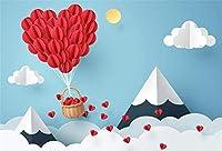 HiYash 9x6ft バレンタインデーのテーマパーティーの背景写真撮影の背景写真ロマンチックな結婚式の婚約誕生日の背景小道具子供大人の写真スタジオ撮影小道具ビニール素材