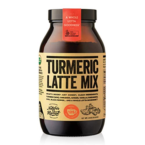 Nature's Harvest Turmeric Latte Mix (125 Servings Jar)