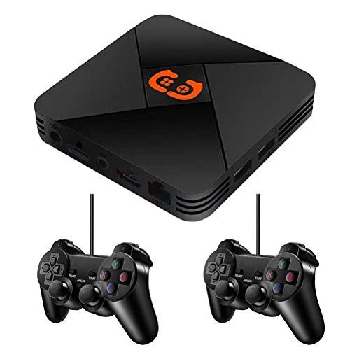 Hspemo R9 2.4G Wireless-Spielekonsole,PSP-Emulator-Spielekonsole,HD Wireless Arcade GBA R8-Spielekonsole,Upgrade der R8-Spielekonsole Version,32G TF-Karte,mehr als 5600 Spielen