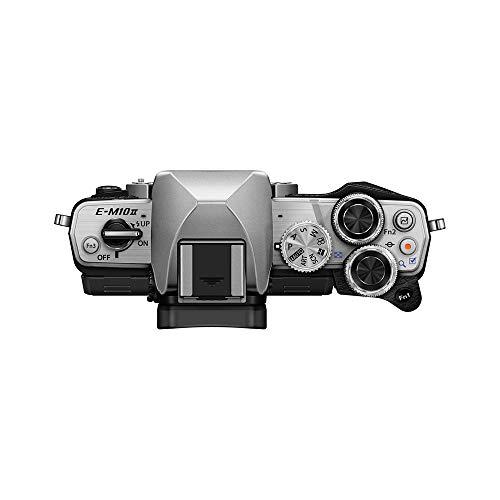 Olympus OM-D E-M10 Mark II Mirrorless Camera with 14-42mm II R Lens (Silver)
