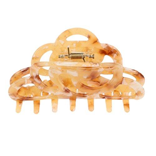 Sharplace Pince à Cheveux Accessoire Cheveux Durable et Confortable à Porter - Beige