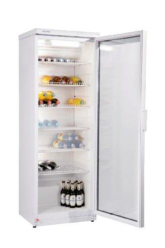 Severin KS 9880 Flaschenkühlschrank, weiß / Verbrauch: 781 kWh/Jahr / 320 Liter Nutzinhalt