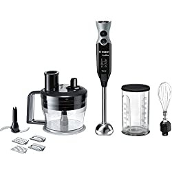 Bosch MSM67190 750-Watt Hand Blender with Whisker and Food Processor Attachments
