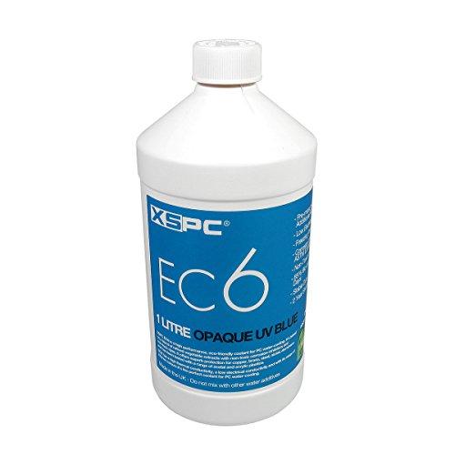 XSPC XS_EC6_OPBLURefrigerante de refrigeración de agua 1000ml, Opaque UV Azul