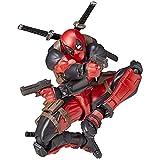 Yamaguchi Revoltech Deadpool Action Figure Superhero Kids Toys for Boys Children Toy Doll Gift 16cm
