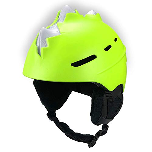 Ski Helm Für Kinder - Bones Spike (Gelb, Medium)