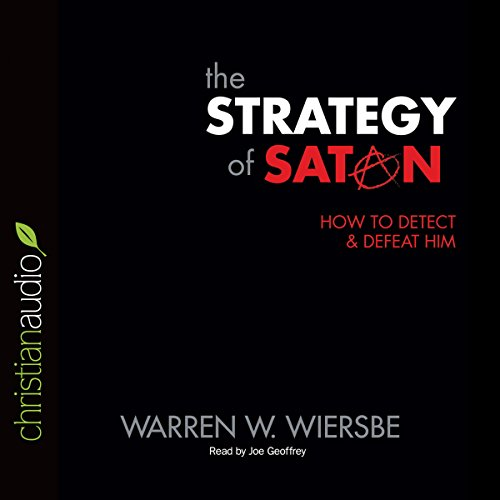 The Strategy of Satan audiobook cover art