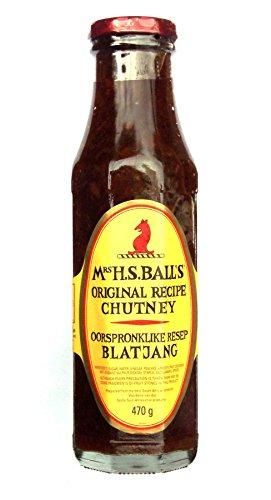 Mrs H.S.Balls – Origineel recept Chutney – 470g