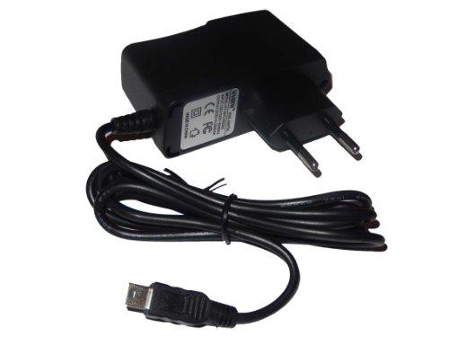 220V Netzteil Ladegerät Ladekabel (2A) mit Mini-USB passend für Garmin Nüvi 55, 55LT, 55LMT, 56, 56LT, 65, 65LMT, 2559, 2559LMT-D, 2569, 2569LMT-D