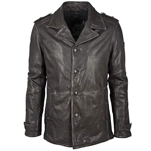 Gipsy GBMat NSLAV W Cappotto di Pelliccia, Color Negro, XL Uomo