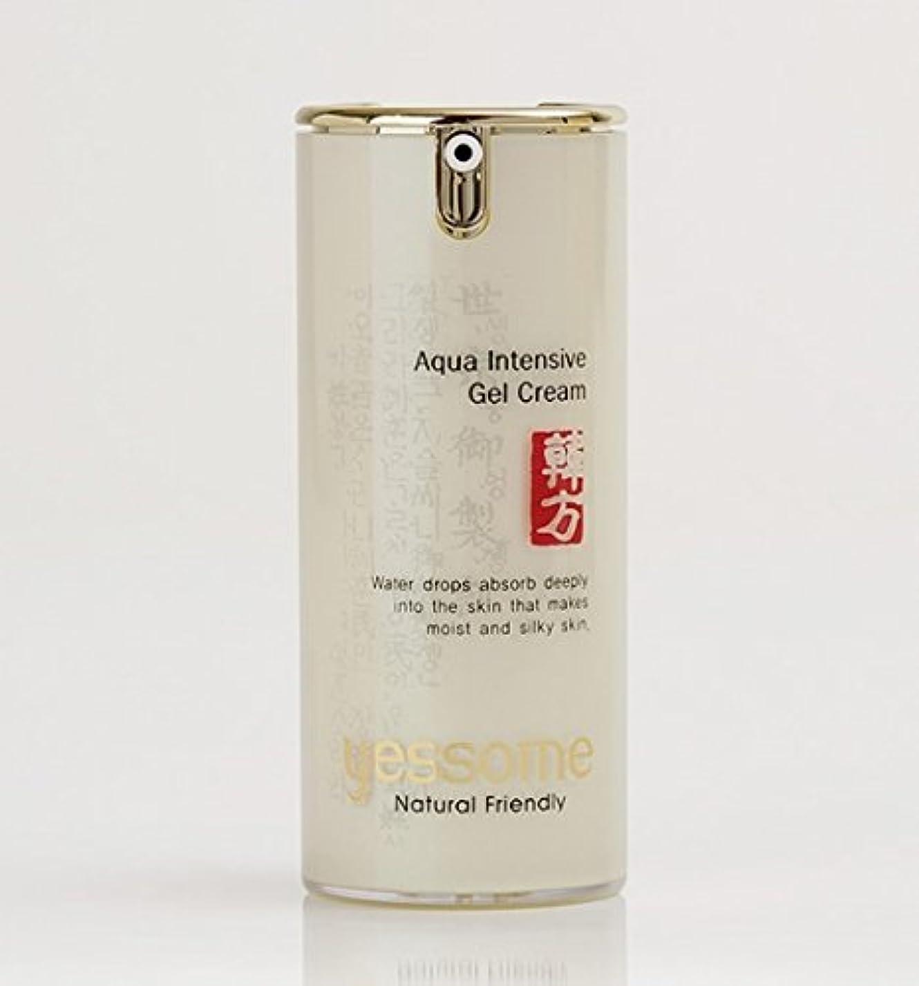 ベテラン委託約束するYessome Aqua Intensive Gel Cream (50ml) - エッセンス