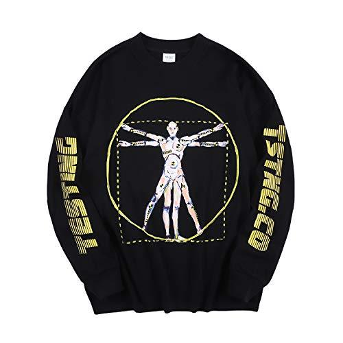 Aasp Rocky Langarmshirt Long Sleeve T-Shirt Sweatshirt Crew Neck Print Streetwear