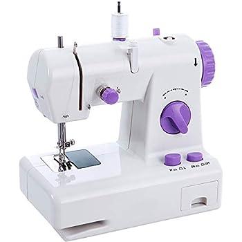 MOLINGXUAN Máquina de Coser, eléctrica doméstica pequeña Mini Multi-función Grueso Comer Máquina de Coser: Amazon.es ...