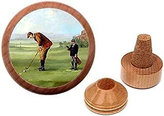 Unique Golfing gift present Bottle Stopper and Cork Holder