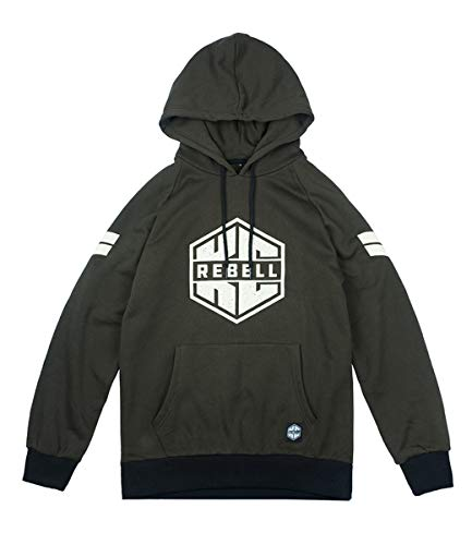 KC Rebell Hoody Logo, Farbe:Olive, Größe:S