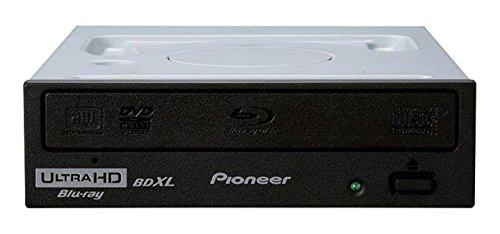 Pioneer 16x BDR-211UBK Internal Blu-ray Burner Drive for BDXL BD DVD CD, Supports Ultra HD 4K Playback