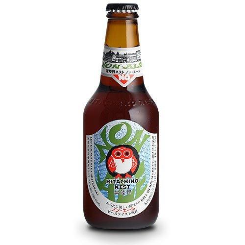常陸野 ノン・エール 330ml×24本 茨城県 木内酒造 ビール クラフトビール ビールテイスト飲料