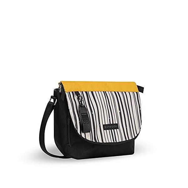 Sherpani Milli, Medium Crossbody Purse, Messenger Bag, Flap Shoulder Bag, Nylon Crossbody Bags for Women, RFID…