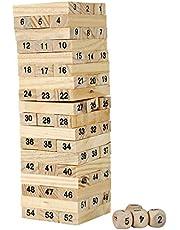 Challenge and Intelligence game - Jinga challenge numbers