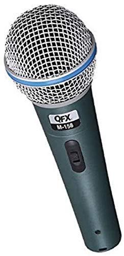 QFX Instrument Dynamic Microphone, XLR Connector (M-158)
