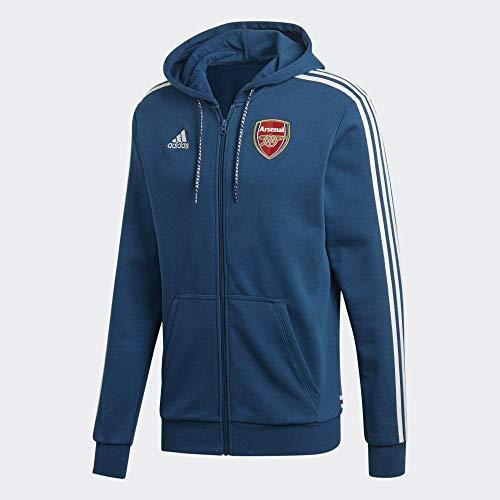 adidas Herren AFC Fz Hd Sweatshirt, Mehrfarbig (Marley), S