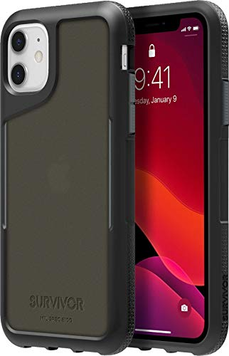 Griffin Technology Funda Survivor Endurance para iPhone 11 Negra/Gris/ahumada