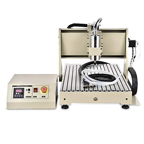 Machine de Gravure USB 4 Axes 1500W VFD CNC 6040 Routeur Engraver Gravure Fraiseuse Machine Bois Metal Carving Engraving