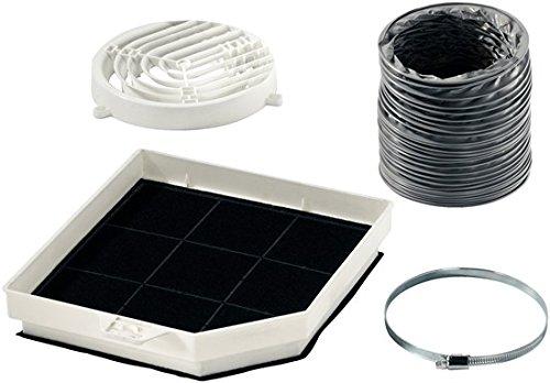 Siemens LZ31500 Huishoudelijke accessoires (afzuigkap, zwart, grijs, wit, 870 g