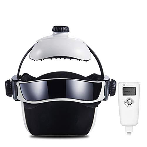 VISTANIA Massaggiatore Elettrico Testa, Strumento Multifunzione Cervello Fisioterapico Cervello Rilassante Cuffia da Massaggio Casco
