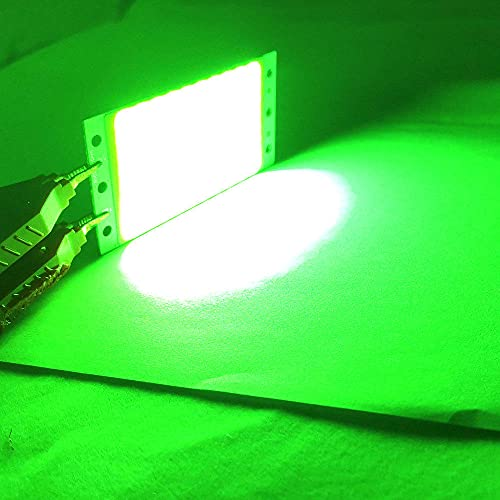 94x50x3mm 15w Módulo LED de COB de alta potencia DC 12-14V 110LM / W LED Tablero de luz de chip para llenado Lámpara Lámpara Flootlight Fresmed Frío-verde_15W