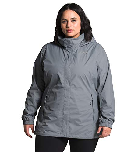 The North Face Plus Size Resolve 2 Jacket Mid Grey 3X