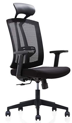 Storm Racer Alta silla de escritorio Volver Malla Silla de oficina...