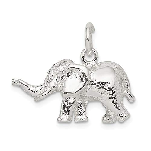 Saris and Things 925 sterlingsilber-elefant-charme und anhänger