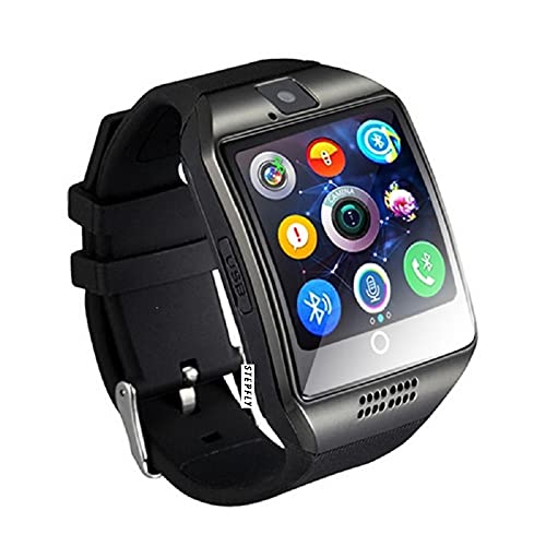 Stepfly Bluetooth Smart Watch with Camera Sim Card Message Notifications Android Smartwatch for Android Mobile Phone