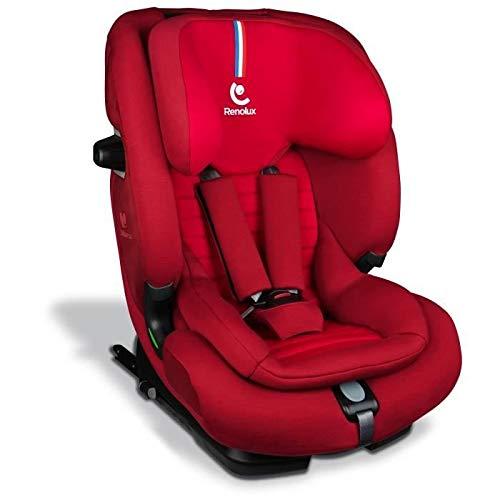 Renolux Softness Olymp Passion, Kindersitz Gruppe 1/2/3 (9-36kg), von 9 Monate bis 12 Jahre, i-Size