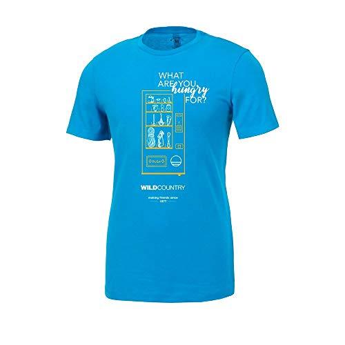 Wild Country Flow 2020 T-shirt à manches courtes pour homme L Bleu foncé