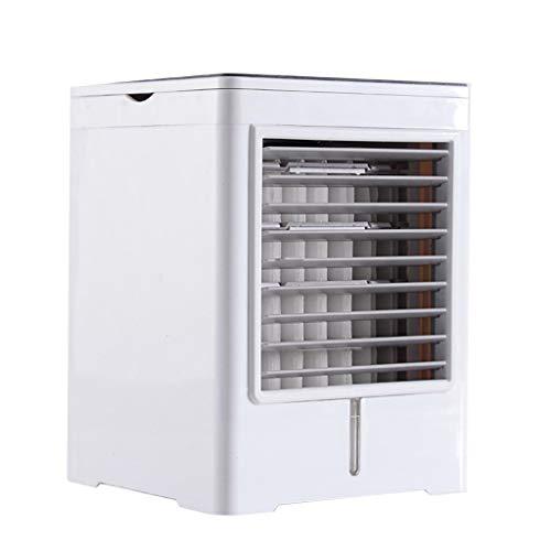 Mini aire acondicionado portátil, 3 en 1, aire acondicionado personal, humidificador, ventilador de refrigeración, ventilador USB, ventilador de aire, aire acondicionado, pequeño