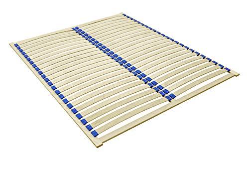 Lattenrost Easypack, Lattenrahmen geeignet für alle Matratzen, mit 23 Federleisten, Birkenholz, Bettrost (160 x 200 cm)